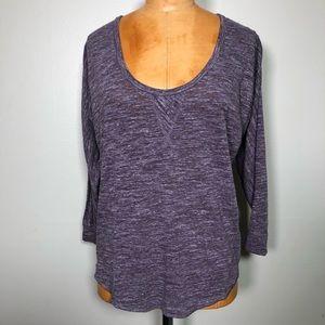 Aritzia Wilfred long sleeve top t shirt